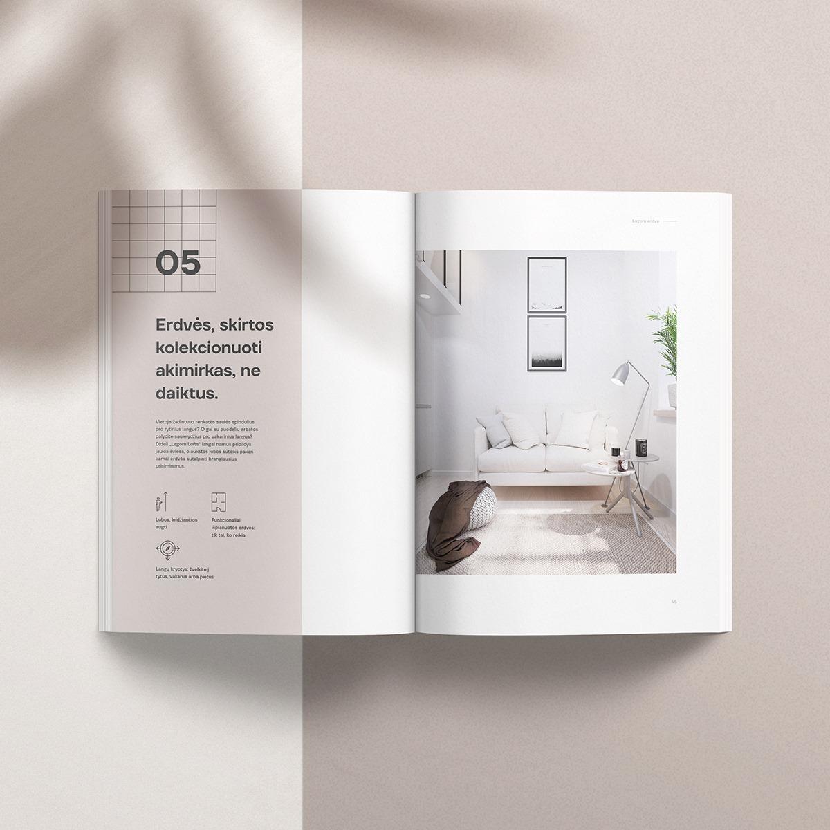 Lagom Lofts žurnalo nuotrauka, FOLK dizainas