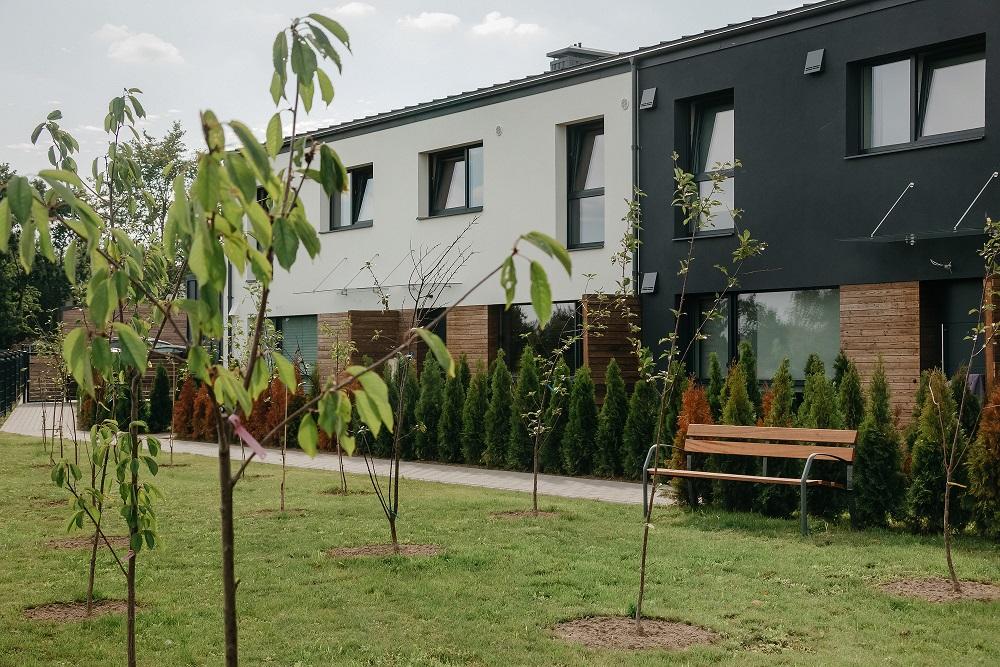 Namai, kuriuose žydi vyšnių sodas