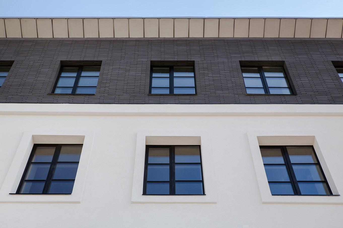 Lagom Lofts atnaujinto fasado nuotrauka, langai