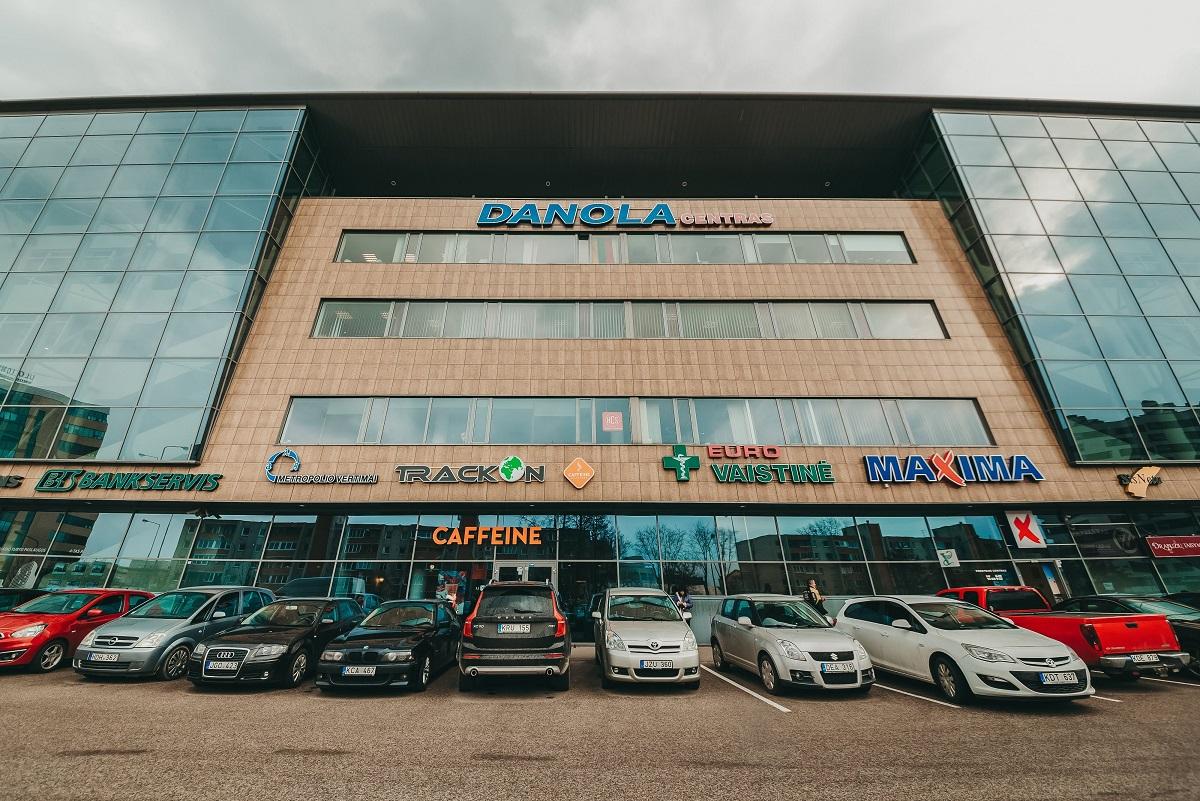 Danola verslo centro fasadas, Ulonų g.