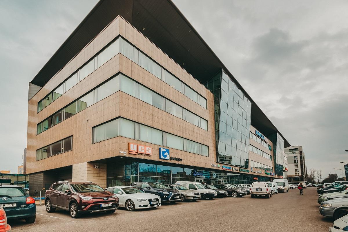 Danola verslo centras, komercinės patalpos