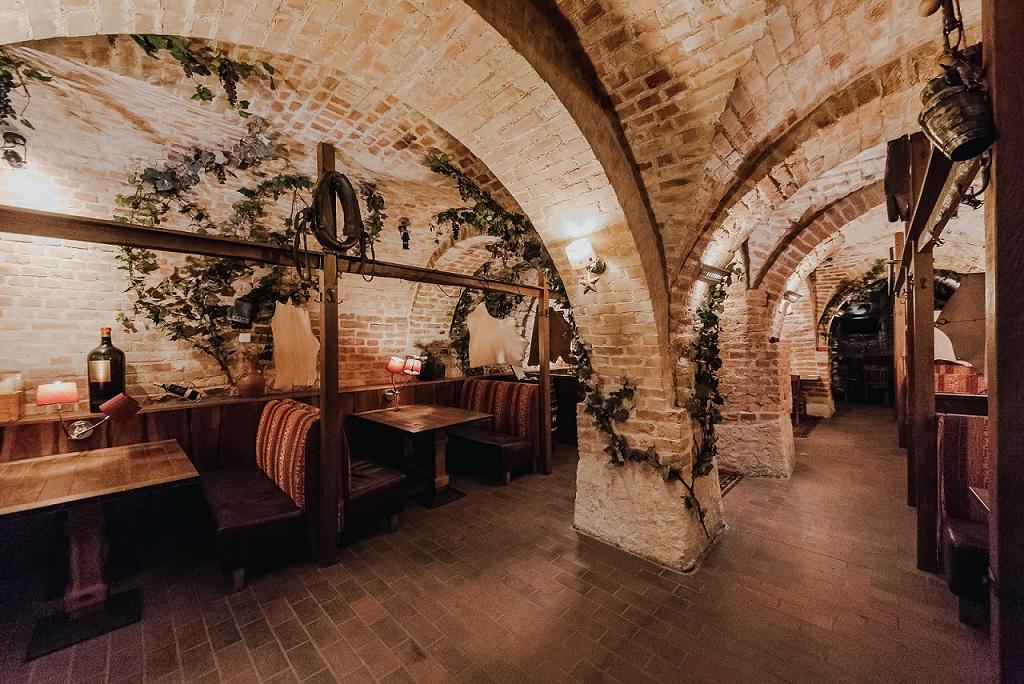 Pilies g. rūsiai, buvusios restorano El Gaucho patalpos