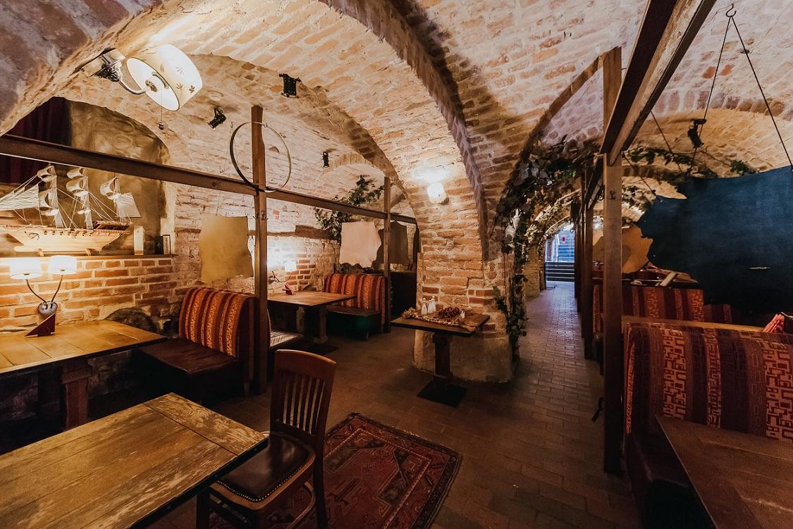 Buvusio restorano El Gaucho patalpos, vidaus interjeras
